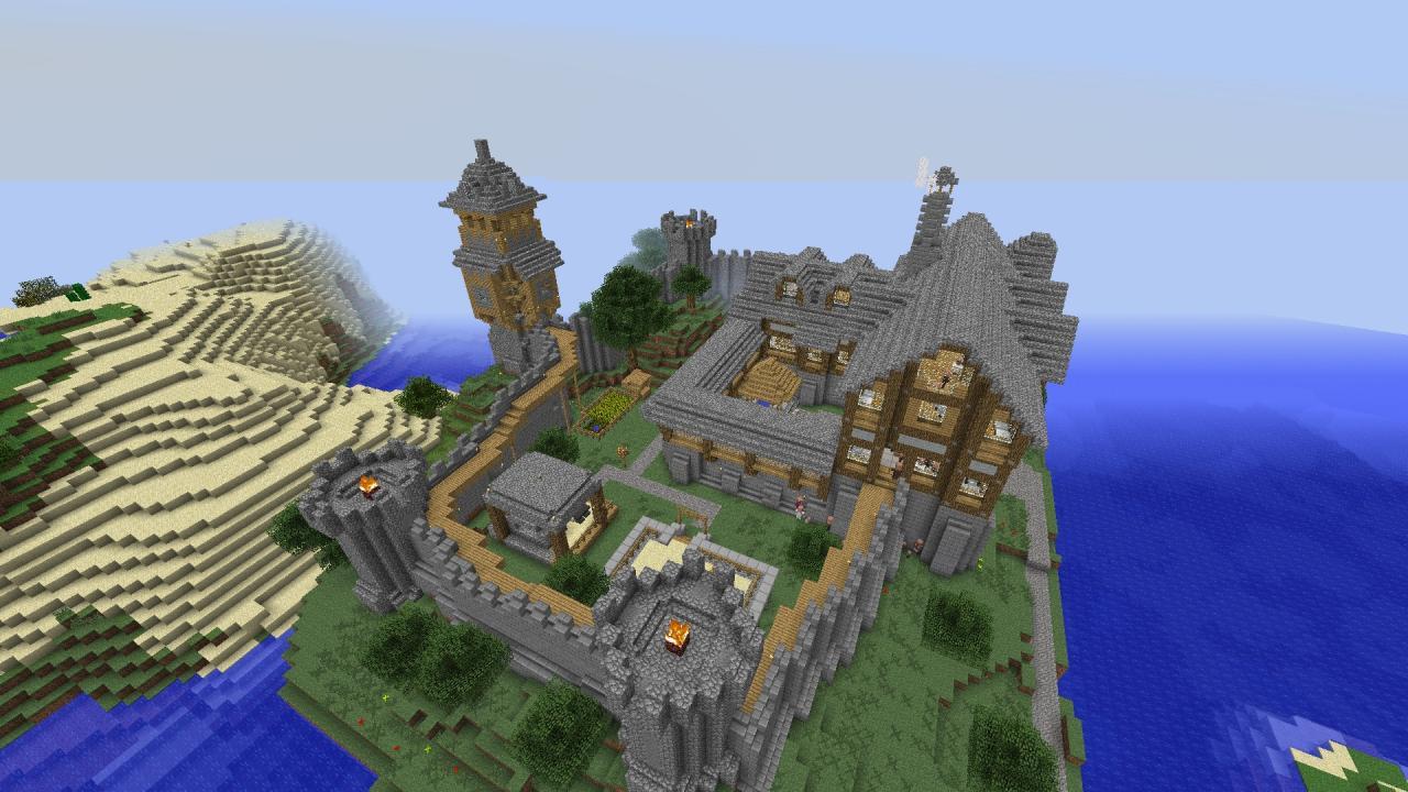Скачать майнкрафт с модом tale of kingdoms