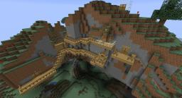 A House in a Mountain Minecraft Map & Project