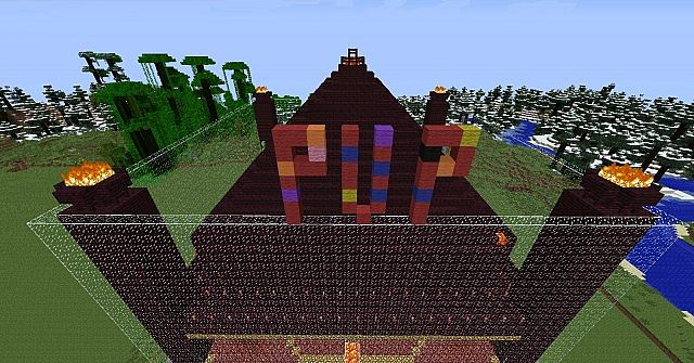 grass was replaced with nether rack not all of the world was only spawn