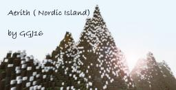 Aerith (Nordic Island) 40 sub special Minecraft Map & Project