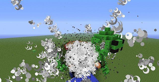 Mine turtle explosion - photo#11
