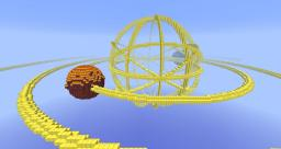 Solar System Model Minecraft Map & Project