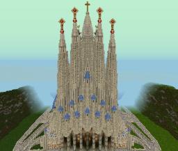 [Cathedral] Sagrada Familia by Swabian Minecraft