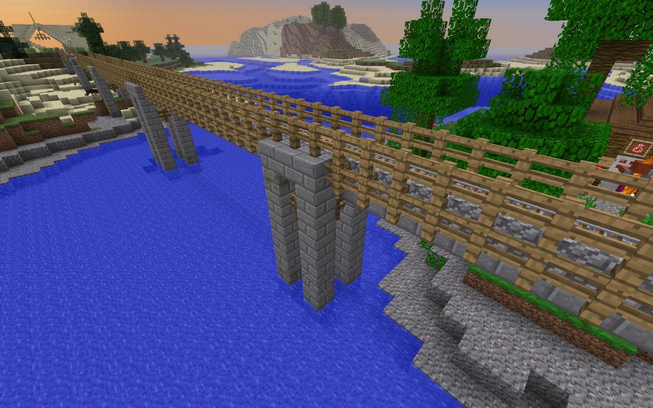 Minecraft Train Build