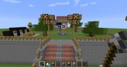 Minecraft Dunk Booth (Carnival Game) Minecraft Map & Project