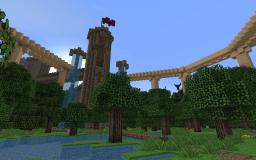 Castle Undar (Flatland Structure) - A'Therys Ascended RECOMMENDED - Minecraft Map & Project