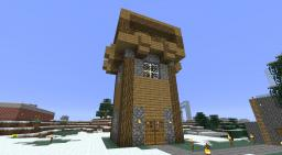 Archer Tower Minecraft Map & Project