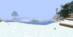 SNOW BIOME MAP WITHOUT THE HOUSE! Minecraft Map & Project