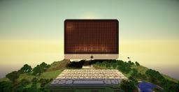 Interactive iMac computer. Minecraft Project