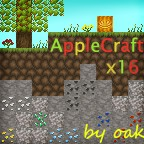[1.4.5]AppleCraft x16 v1.4 Minecraft Texture Pack