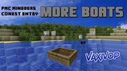 More Boats [Minedeas Contest Entry] Minecraft Blog