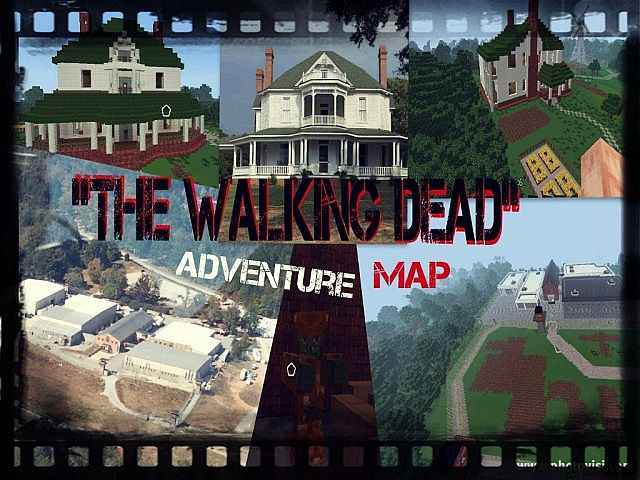 Minecraft The Walking Dead Map