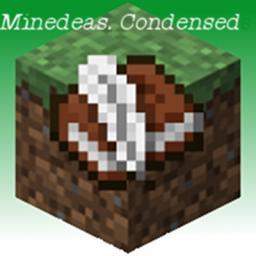 Minedeas. Condensed. Minecraft Blog Post