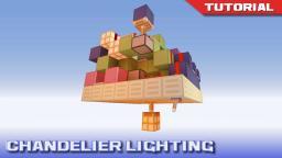 Drop Down Chandelier Lighting Minecraft Map & Project