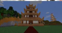 Japanese Paper House city [Eurasia Roleplay Server] Minecraft Map & Project