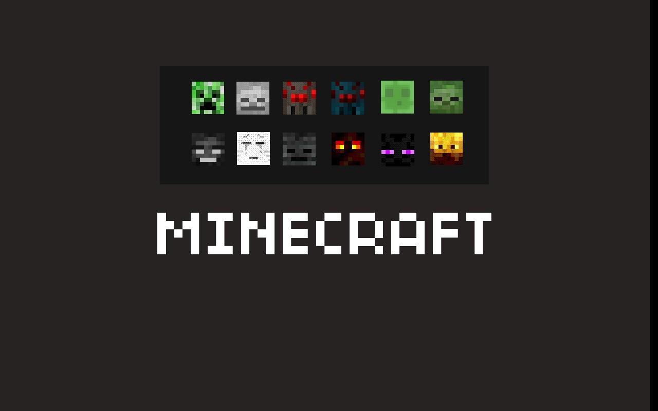 Minecraft Enemy Mobs Wallpaper Minecraft Blog