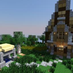 Little hut Minecraft Map & Project