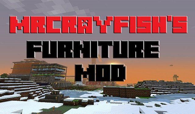 how to use mrcrayfish furniture mod