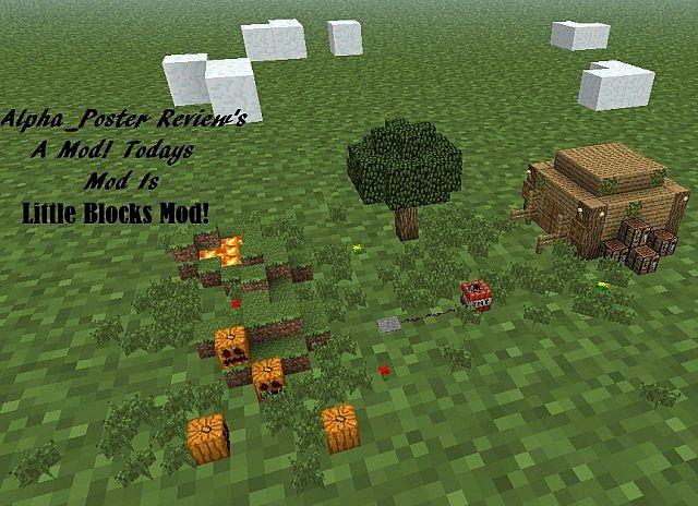 Mod Review Little Blocks Mod 1 4 5 Forge Minecraft Blog