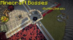 Minecraft Bosses - By NekuShikazu (FEATURES CO-OP) Minecraft Map & Project