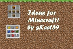 Relastic Ideas for Minecraft (CONTEST) Minecraft
