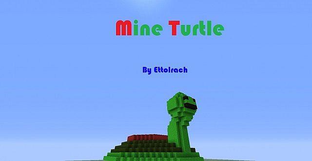 Mine turtle explosion - photo#10