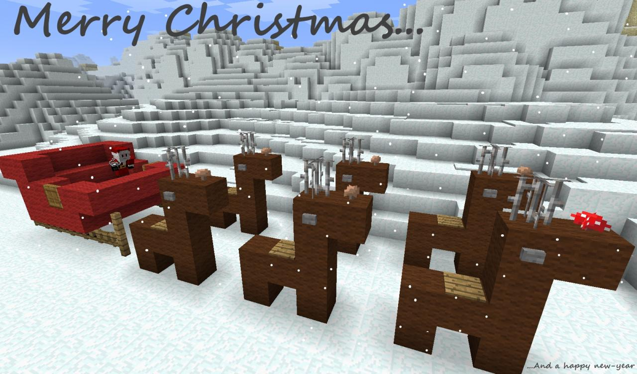 Christmas Minecraft World.The Advent Calendar 1 8 0 Xmas 2015 Minecraft Project