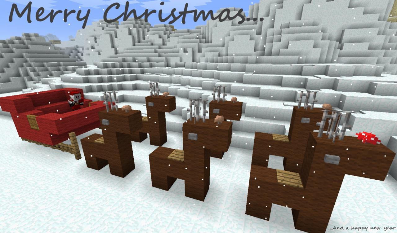 Christmas Calendar Minecraft Download : The advent calendar  xmas minecraft project