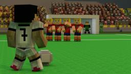 """Cristiano Ronaldo Free Kick"" - A Minecraft Animation Minecraft Map & Project"