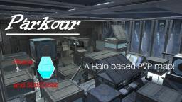 Parkour - A Halo based PVP map. Minecraft