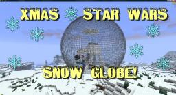 Xmas - Star Wars Themed Snow Globe! Minecraft Map & Project