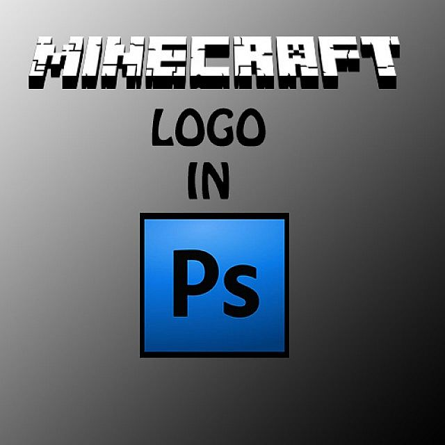 How to make Minecraft logo in PhotoShop Minecraft Blog