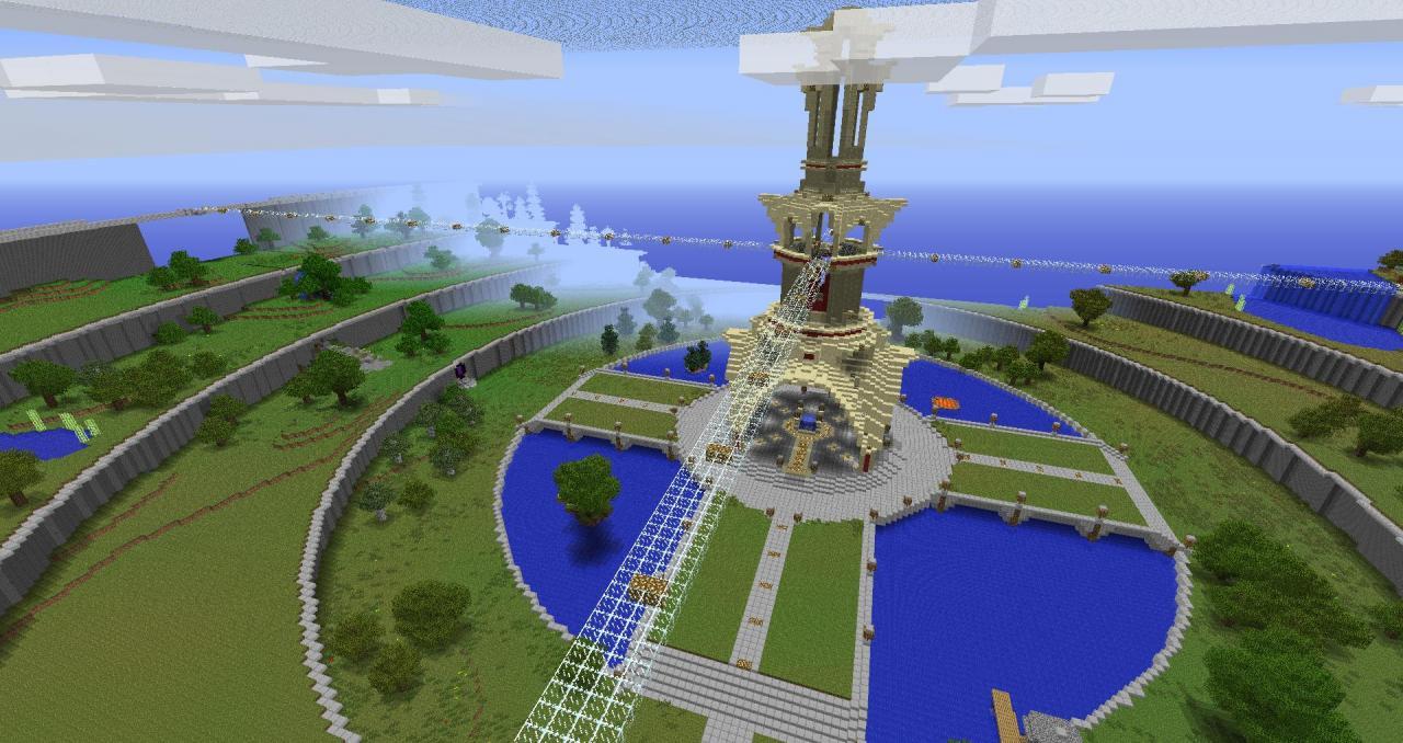 Спавн для сервера Minecraft 1.7 2 карта   VK