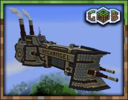 Airship-Archangel warcruiser Minecraft Map & Project