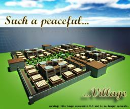Peaceful Village [1.5] [V.3] [Schematic] Minecraft Project