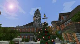 bank with clock tower Minecraft Map & Project