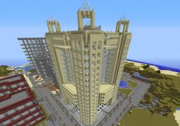 Fairmont Hotel Dubai Minecraft Map & Project
