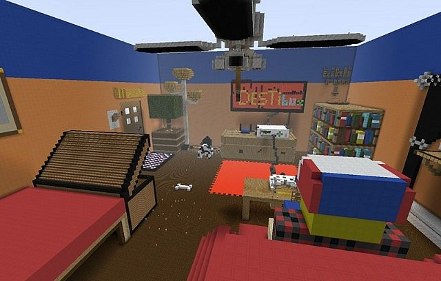 3d game room minecraft project for Realistic house design games