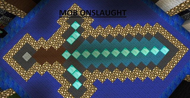 Mob Onslaught 2 0 Minecraft Survival Mini Game Minecraft
