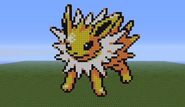 Pokemon Pixel Art (121 - 140) Minecraft Project