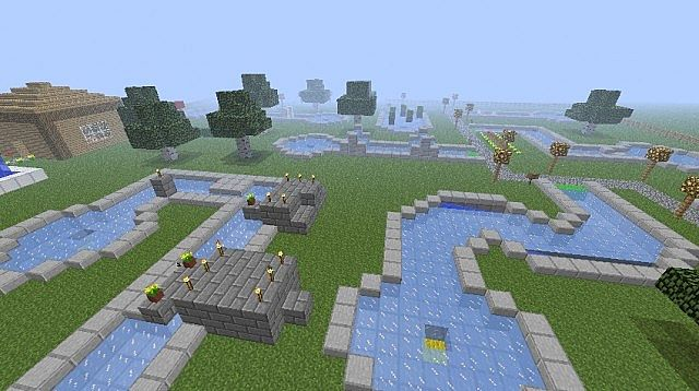 Kgold S Minigolf Map 36 Holes Download Minecraft Project