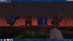 Squirtle, Mario, Facebook, Link Pixel Art. Minecraft Map & Project
