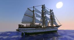 Ship: Gorch Fock Minecraft Map & Project