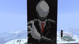 Slenderman - Pixel Art Minecraft Project