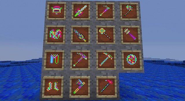 My Rainbow Mod Minecraft Mod