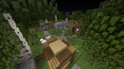 A sneak peak for The Fall of Eden Minecraft Map & Project