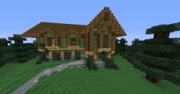 Minecraft | Medieval House| Timelapse. [With House Download.] Minecraft Map & Project