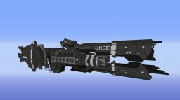 HALO UNSC Frigate Savannah Minecraft