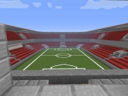 Soccer Stadium Minecraft Map & Project