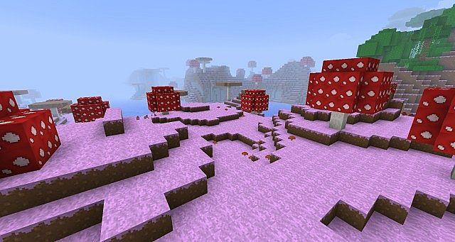 Mushroom Islands!